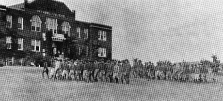1920s National Guard Drilling